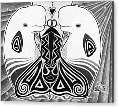 Spirit Of The Arctic Acrylic Print