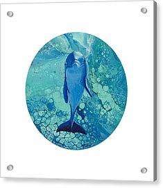 Acrylic Print featuring the painting Spirit Of The Ocean by Darice Machel McGuire