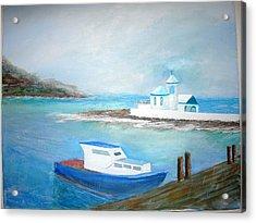 Spirit Of The Sea Acrylic Print by Jack Hampton