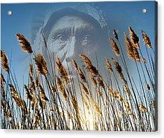 Spirit Of The Sun And Earth Acrylic Print