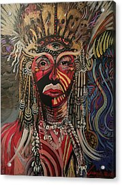 Spirit Portrait Acrylic Print