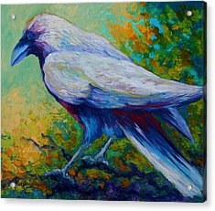 Spirit Raven Acrylic Print