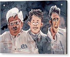 Spirit Team 2004 Acrylic Print by Donald Maier