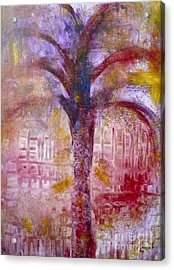 Acrylic Print featuring the painting Spirit Tree by Claire Bull