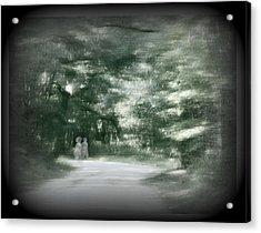 Spirit Walk Acrylic Print by Leslie Revels Andrews