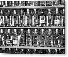 Acrylic Print featuring the photograph Spirit World Bottles by T Brian Jones