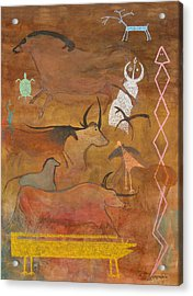 Spirits- Souls Of All Living Acrylic Print by Mordecai Colodner