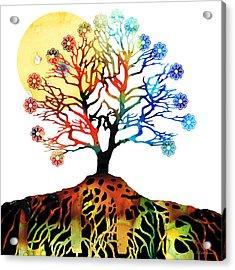Spiritual Art - Tree Of Life Acrylic Print