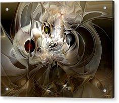 Spiritual Chops Acrylic Print