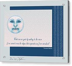 Spiritual Moon Acrylic Print