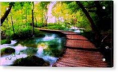 Spiritual Walk Acrylic Print