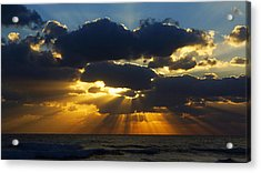 Spiritually Uplifting Sunrise Acrylic Print