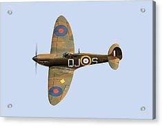 Spitfire Mk 1 R6596 Qj-s Acrylic Print