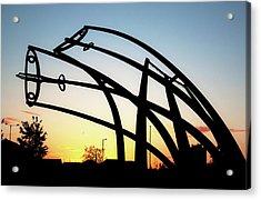 Spitfire Sunrise Acrylic Print