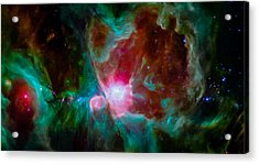 Spitzer's Orion Acrylic Print