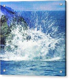 Splash Acrylic Print by Anna Villarreal Garbis
