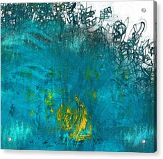 Splash Acrylic Print by Jack Zulli