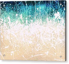 Acrylic Print featuring the painting Splash by Jaison Cianelli