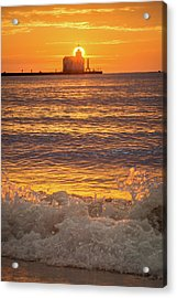 Acrylic Print featuring the photograph Splash Of Light by Bill Pevlor