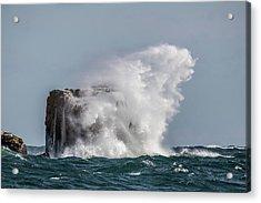 Acrylic Print featuring the photograph Splash by Paul Freidlund