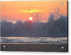 Splashing High Acrylic Print