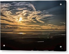 Acrylic Print featuring the photograph Splendorous Sunset by John M Bailey