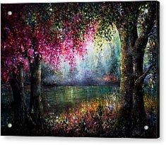 Splendour Acrylic Print by Ann Marie Bone