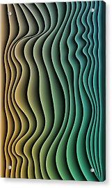 Split Infinities Acrylic Print