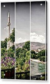 Split Landscape Acrylic Print