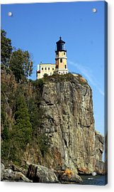 Split Rock 3 Acrylic Print by Marty Koch