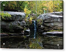 Split Rock In October #1 Acrylic Print by Jeff Severson
