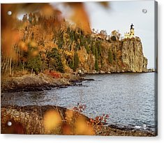 Acrylic Print featuring the photograph Split Rock Lighthouse by Whitney Leigh Carlson
