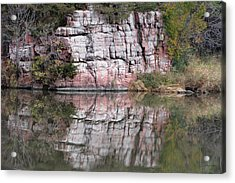 Split Rock State Park Near Garritson South Dakota Acrylic Print