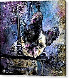 Spok Acrylic Print by Miki De Goodaboom