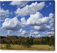 Spokane Cloudscape Acrylic Print
