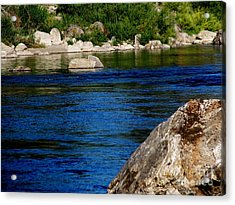 Spokane River Acrylic Print by Greg Patzer