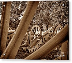 Spokes Of Courage Acrylic Print by Olivier Le Queinec