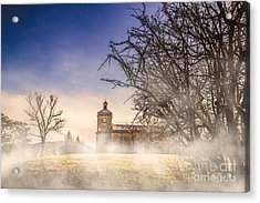 Spooky Old Church Acrylic Print