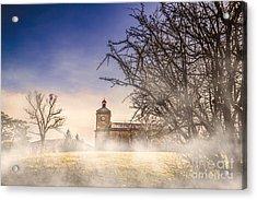 Spooky Old Church Acrylic Print by Jorgo Photography - Wall Art Gallery