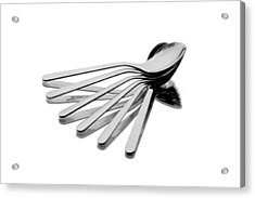 Acrylic Print featuring the photograph Spoon Fan by Gert Lavsen