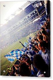 Sporting Kansas City Acrylic Print by Stacia Blase