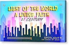 Spotlight Jesus Acrylic Print