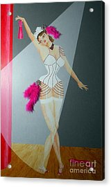 Spotlight On Gypsy -- #5 In Famous Flirts Series Acrylic Print