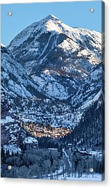 Spotlight On Ouray Acrylic Print