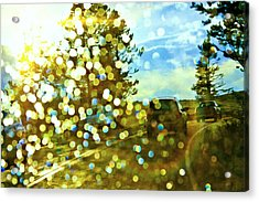 Spots Of Light Acrylic Print
