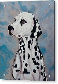 Spotty Acrylic Print by Lilly King