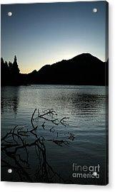 Sprague Lake Dawn Acrylic Print by Timothy Johnson