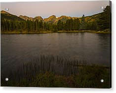 Acrylic Print featuring the photograph Sprague Lake by Gary Lengyel