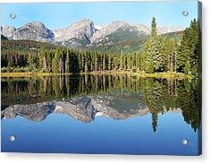 Sprague Lake Rocky Mountains Acrylic Print by David Yunker