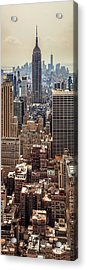 Sprawling Urban Jungle Acrylic Print